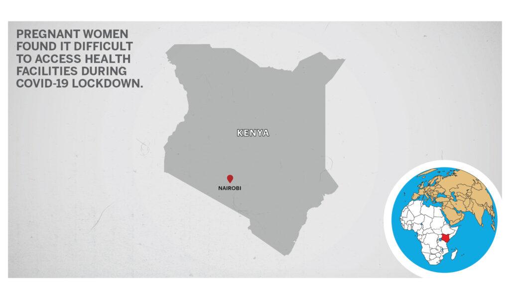 Map of Nairobi Kenya