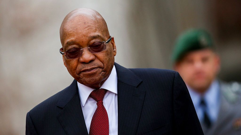 South African former president Jacob Zuma's corruption and money laundering trial at the Pietermaritzburg High Court in KwaZulu-Natal was postponed to September 9 and 10 this year due to his hospitalization, said Judge Piet Koen Tuesday. (Sean Gallup/Getty Images)